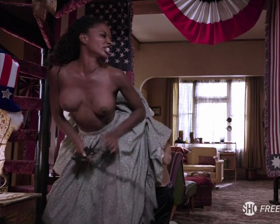 Shanola Hampton Topless To Overcome On Shameless 11