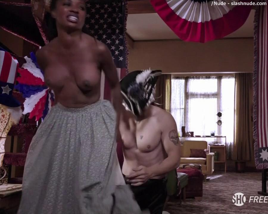 Shanola Hampton Topless To Overcome On Shameless 6