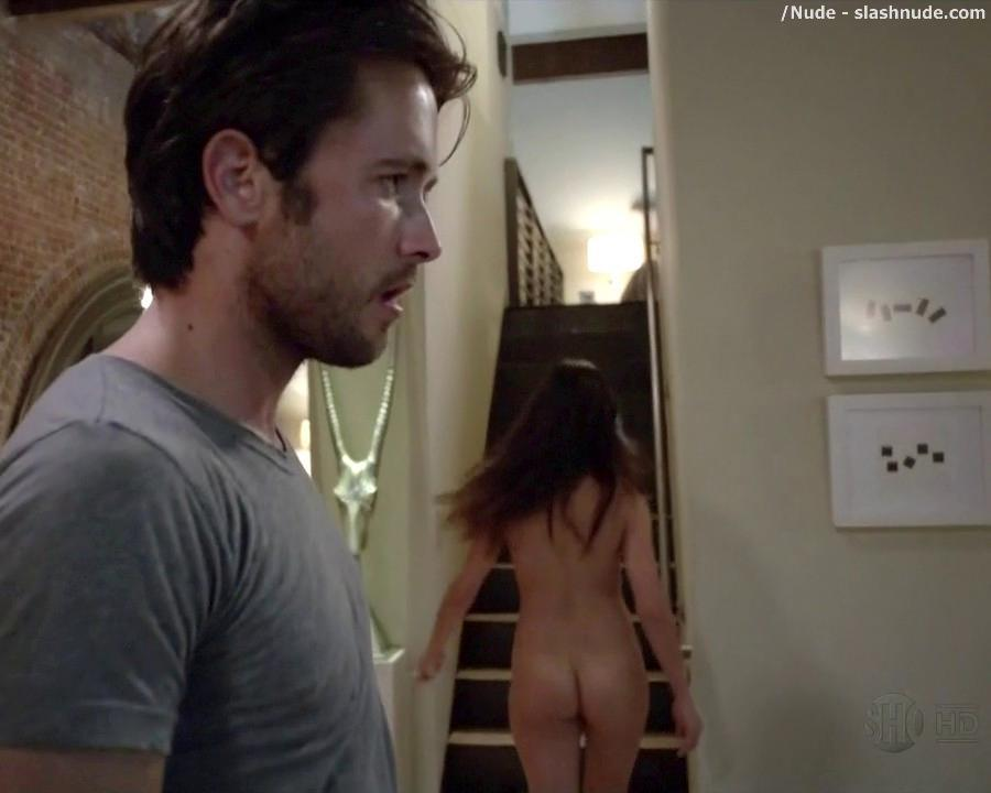Stephanie Fantauzzi Nude For A Bedroom Invitation On Shameless 15