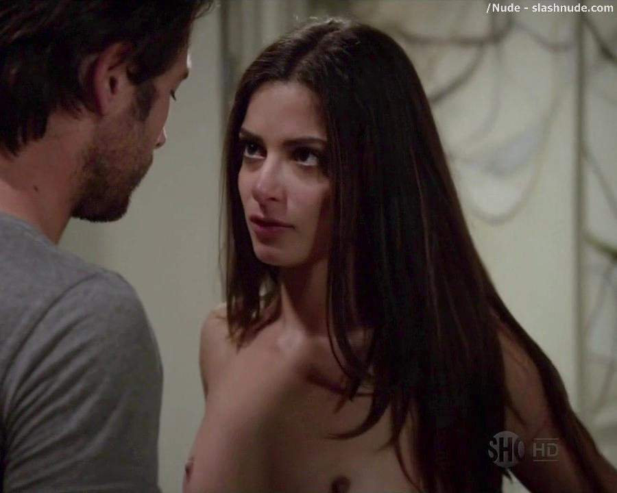 Stephanie Fantauzzi Nude For A Bedroom Invitation On Shameless 3