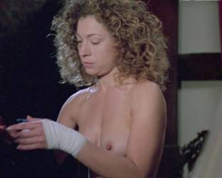alex kingston nude full frontal in croupier before doctor who 3230 28
