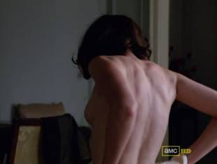 alexis bledel topless tease on mad men 5874 10