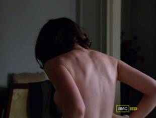 alexis bledel topless tease on mad men 5874 4