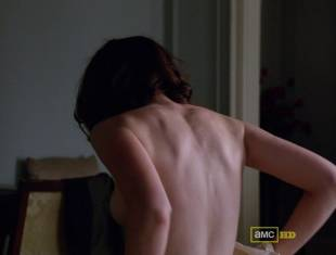 alexis bledel topless tease on mad men 5874 5