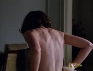 alexis bledel topless tease on mad men 5874 7