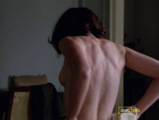 alexis bledel topless tease on mad men 5874 9