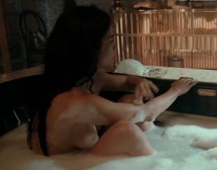 alice braga nude bath in queen of south 2138 7