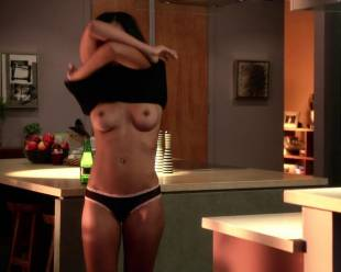 alice hunter topless and casual on house of lies 9095 7