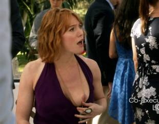 alicia witt topless breast out on house of lies 9935 10