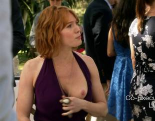 alicia witt topless breast out on house of lies 9935 11