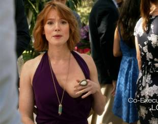 alicia witt topless breast out on house of lies 9935 12