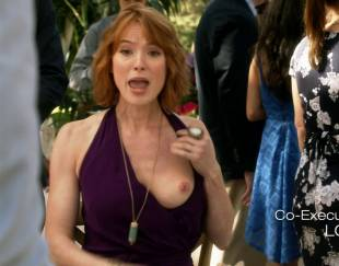 alicia witt topless breast out on house of lies 9935 13