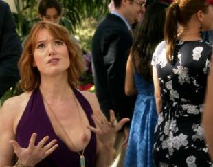 alicia witt topless breast out on house of lies 9935 7
