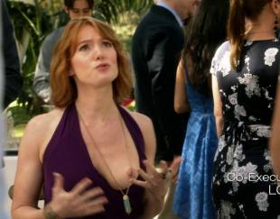 alicia witt topless breast out on house of lies 9935 8