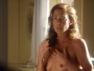 allison janney topless in bathroom on masters of sex 3118 10