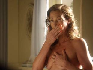 allison janney topless in bathroom on masters of sex 3118 12