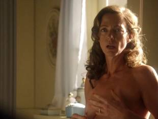 allison janney topless in bathroom on masters of sex 3118 6