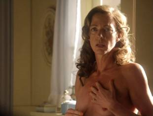 allison janney topless in bathroom on masters of sex 3118 8