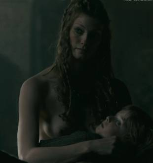 alyssa sutherland topless in vikings 1236 6