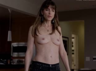 amanda peet topless jeans 360 on togetherness 8084 12
