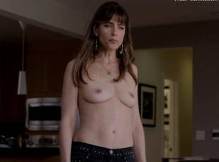amanda peet topless jeans 360 on togetherness 8084 13