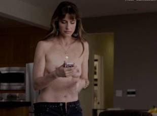 amanda peet topless jeans 360 on togetherness 8084 18
