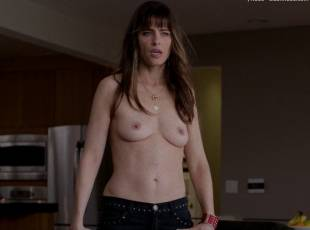 amanda peet topless jeans 360 on togetherness 8084 3