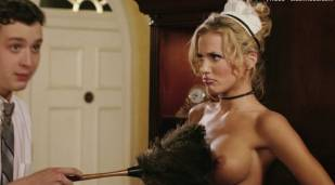 amanda swisten topless as french maid in american wedding 3131 11