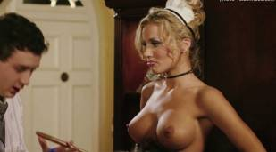 amanda swisten topless as french maid in american wedding 3131 12
