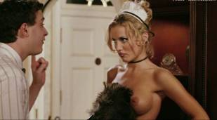 amanda swisten topless as french maid in american wedding 3131 15