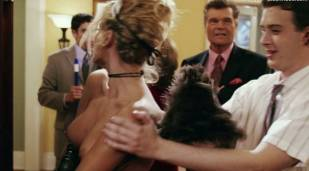 amanda swisten topless as french maid in american wedding 3131 19