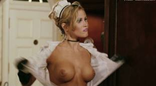amanda swisten topless as french maid in american wedding 3131 2