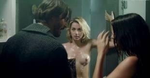 ana de armas lorenza izzo nude threesome in knock knock 6497 13