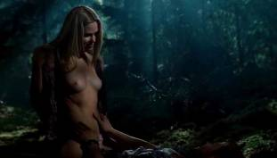 anna hutchinson topless in cabin in woods 8999 4