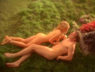 anna paquin nude in daylight grass on true blood 7365 12