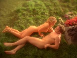 anna paquin nude in daylight grass on true blood 7365 13
