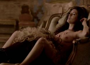 ashley barron nude in a chair on true blood 1333 12