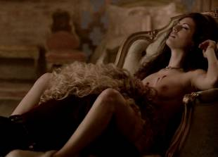 ashley barron nude in a chair on true blood 1333 13
