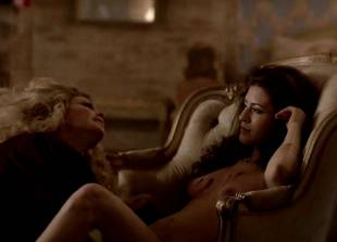 ashley barron nude in a chair on true blood 1333 4
