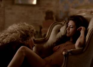 ashley barron nude in a chair on true blood 1333 5