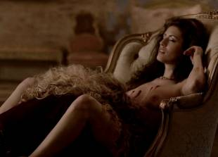 ashley barron nude in a chair on true blood 1333 9