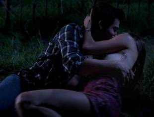 bailey noble topless in the forest on true blood 6502 12