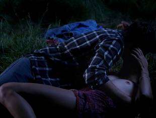 bailey noble topless in the forest on true blood 6502 14