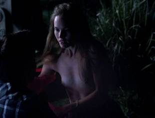 bailey noble topless in the forest on true blood 6502 2