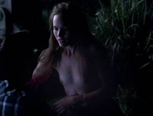 bailey noble topless in the forest on true blood 6502 3