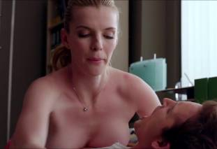 betty gilpin topless to be called names on nurse jackie 6277 17