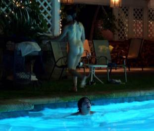 brigette davidovici nude for a seductive swim on californication 2482 8