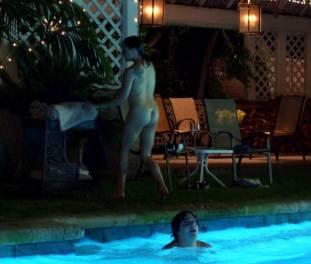 brigette davidovici nude for a seductive swim on californication 2482 9