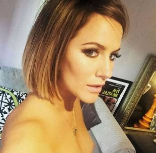 british tv host caroline flack topless in accidental share 3672 1