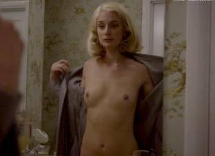 caitlin fitzgerald nude disrobing on masters of sex 7189 1
